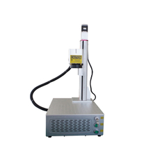 JPT LP 20W 30W 60W Portable Compact Fiber Laser Marking Machine with Motorized Z Axis